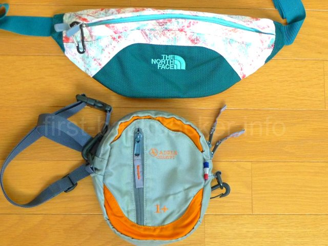 The North Face granuleとaigle banonの比較