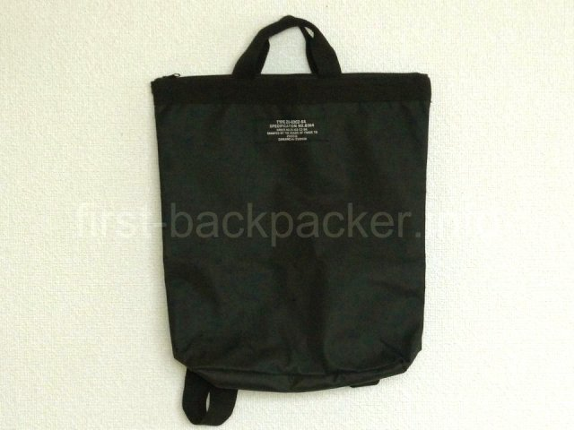 ZUCCa 2WAY BACKPACK BOX BOOKのバッグ